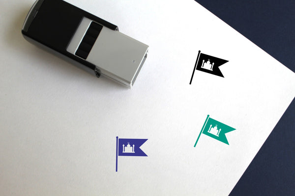 Flag Of Ramadan Self-Inking Rubber Stamp