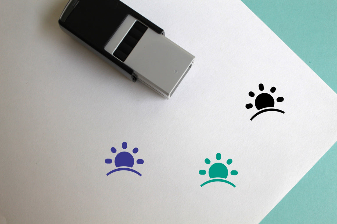 Sunrise Self-Inking Rubber Stamp