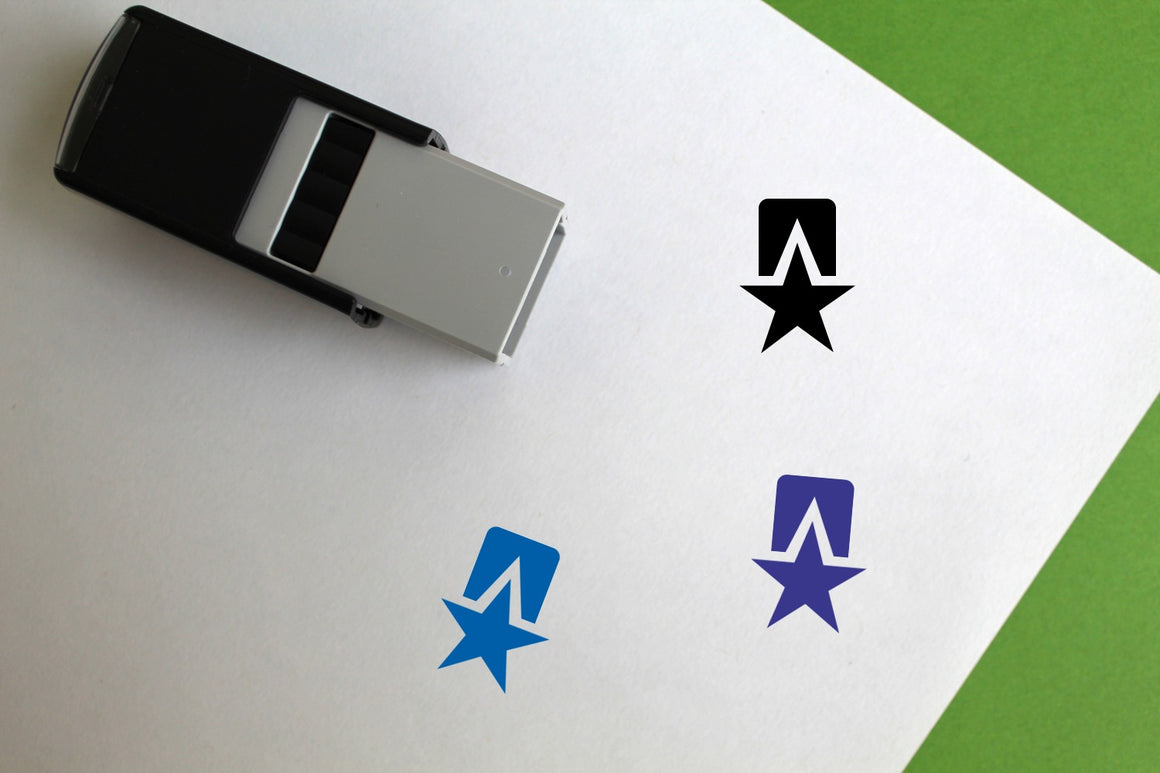 Medal Self-Inking Rubber Stamp