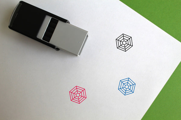 Web Self-Inking Rubber Stamp