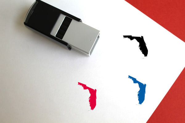 Florida Self-Inking Rubber Stamp