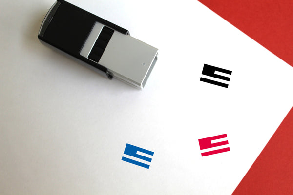 American Flag Self-Inking Rubber Stamp