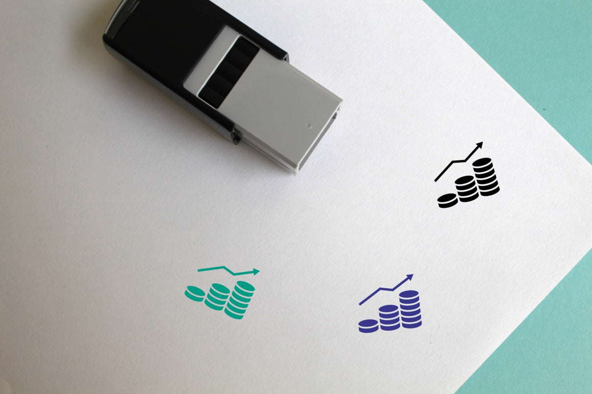 Profit Self-Inking Rubber Stamp