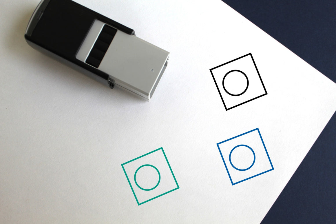 Palau Self-Inking Rubber Stamp