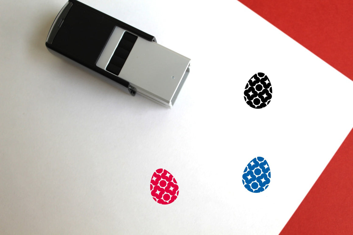 Easter Egg Self-Inking Rubber Stamp