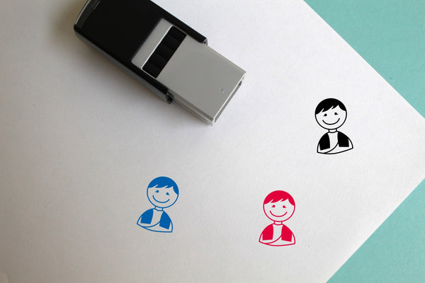 Groom Self-Inking Rubber Stamp