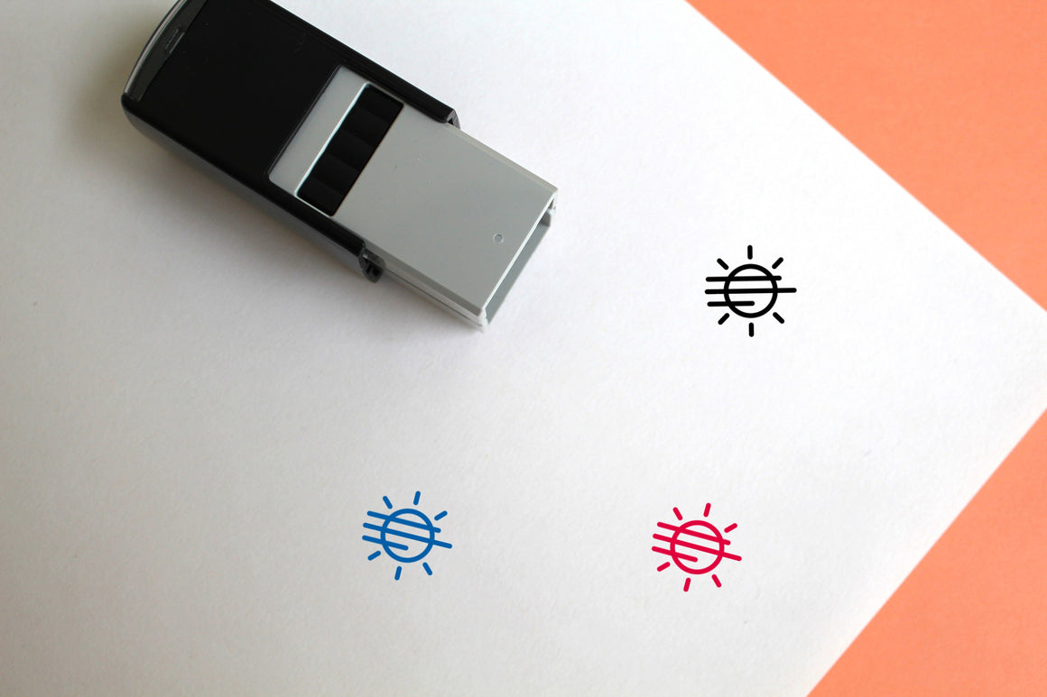 Fog Self-Inking Rubber Stamp