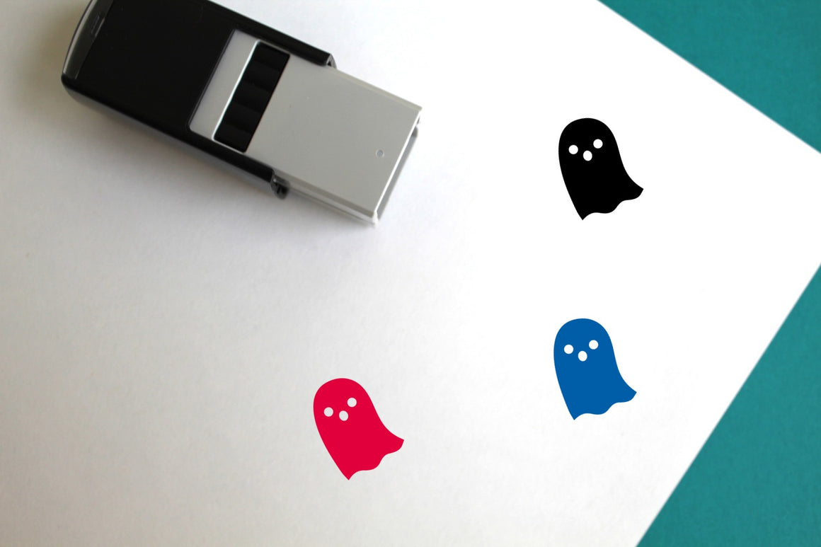 Ghost Self-Inking Rubber Stamp