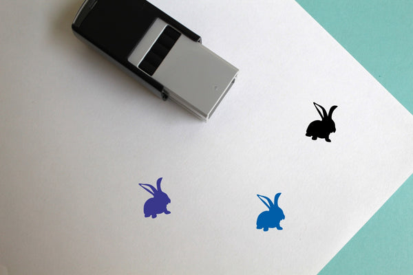 Rabbit Self-Inking Rubber Stamp