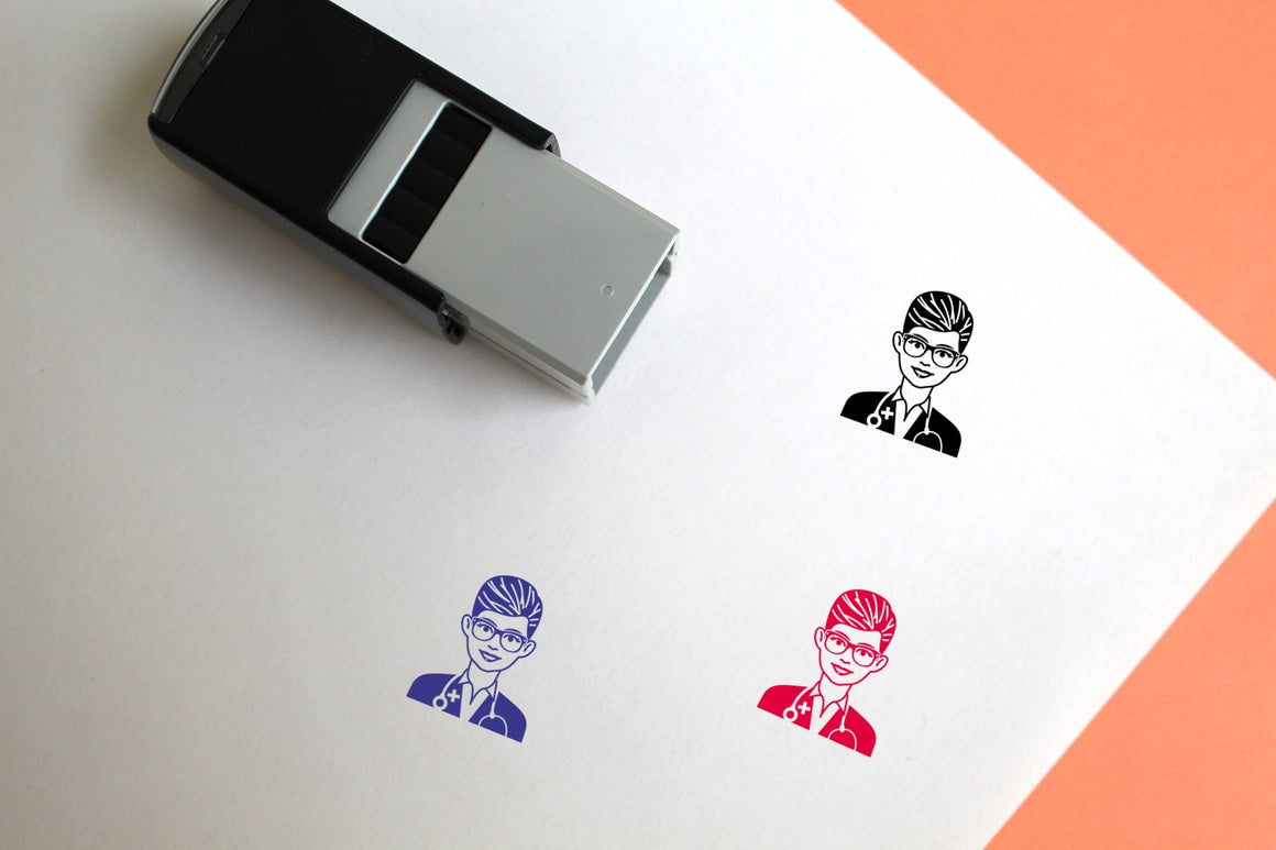 Doctor Self-Inking Rubber Stamp