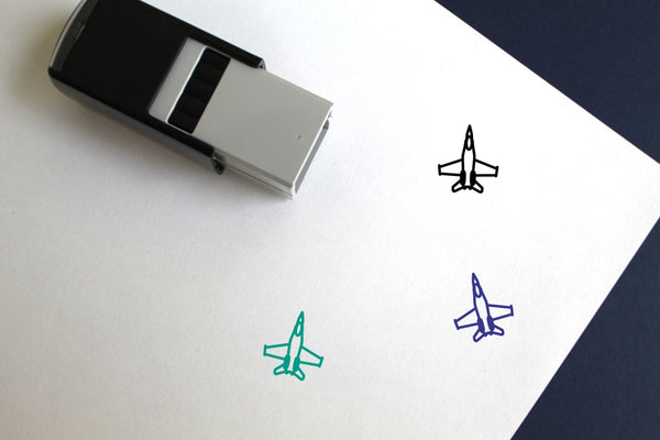 F18 Self-Inking Rubber Stamp