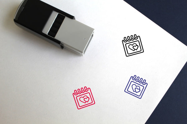 Anniversary Self-Inking Rubber Stamp