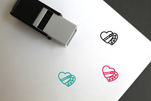 Candies Self-Inking Rubber Stamp