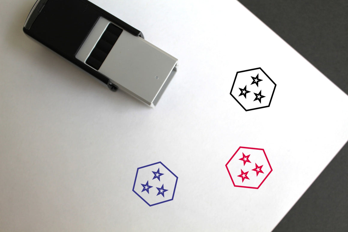Special Self-Inking Rubber Stamp