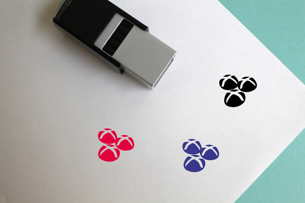 Hot Cross Buns Self-Inking Rubber Stamp