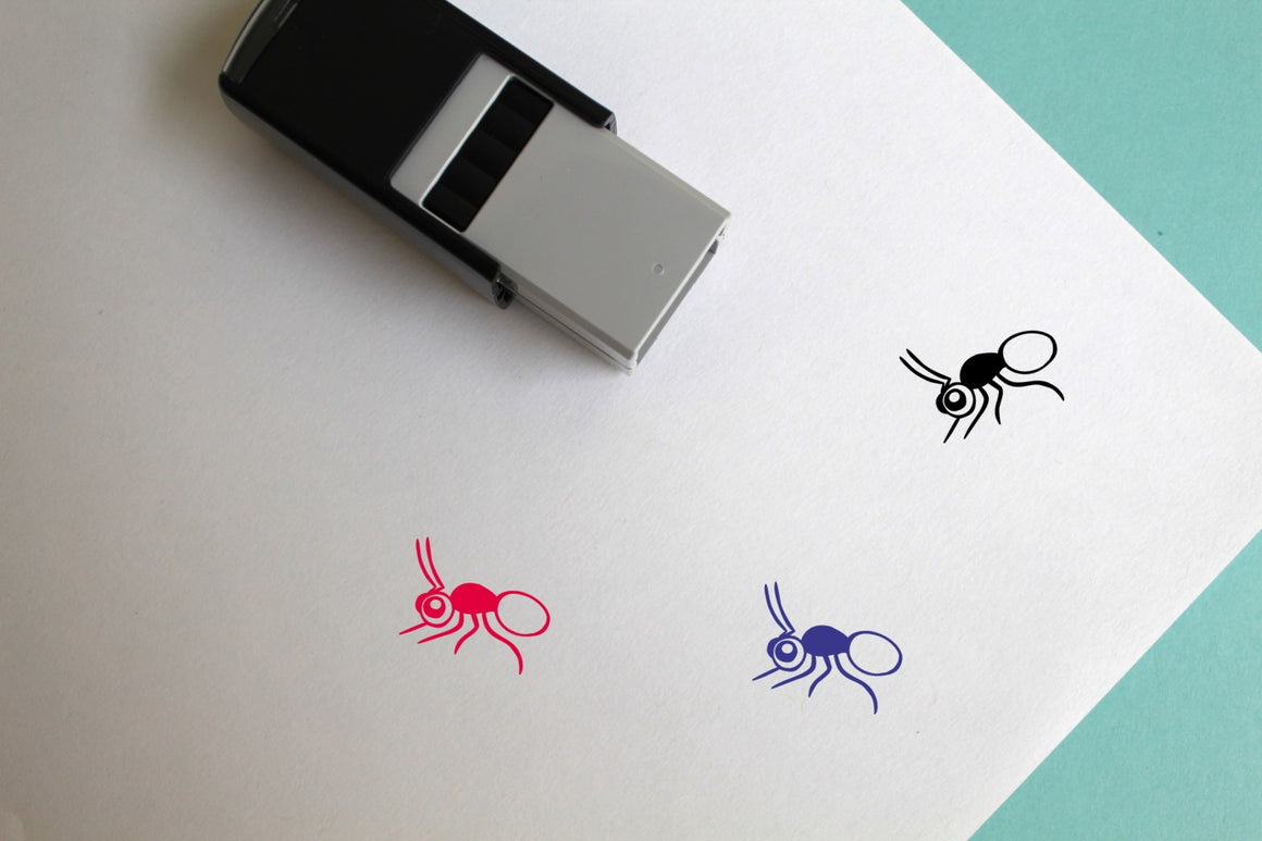 Ant Self-Inking Rubber Stamp