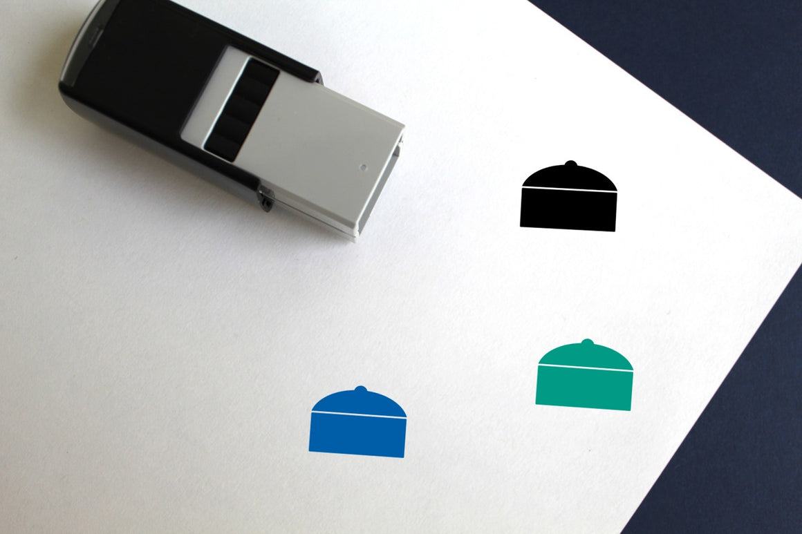 Stewpan Self-Inking Rubber Stamp