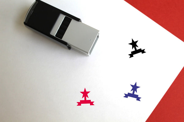 Award Self-Inking Rubber Stamp