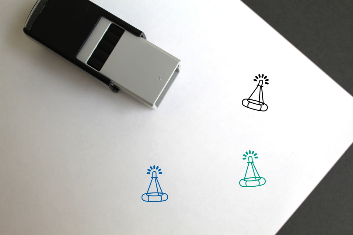 Buoy Self-Inking Rubber Stamp