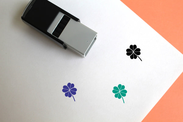 Clover Self-Inking Rubber Stamp
