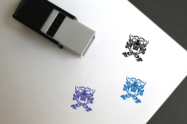 Devil Self-Inking Rubber Stamp