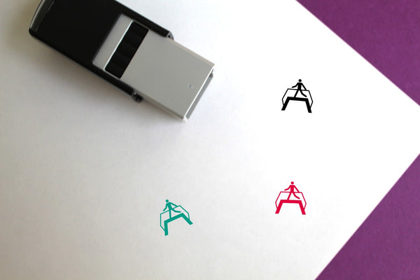 Use Footbridge Self-Inking Rubber Stamp