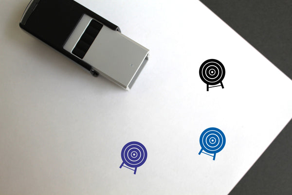 Target Self-Inking Rubber Stamp