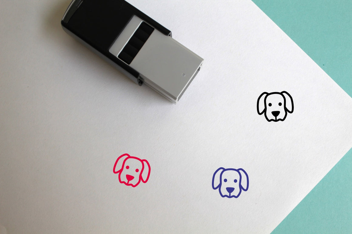 Dog Self-Inking Rubber Stamp