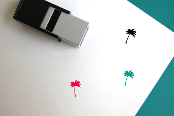 Palm Self-Inking Rubber Stamp