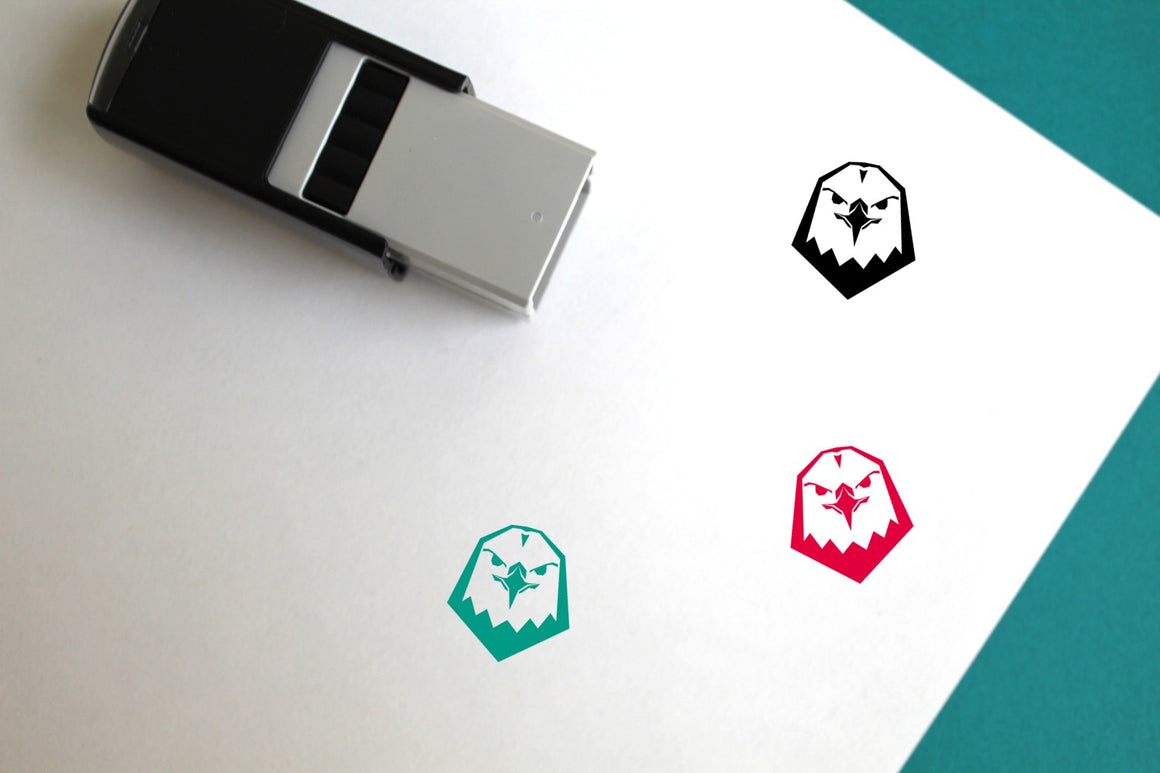 Eagle Self-Inking Rubber Stamp