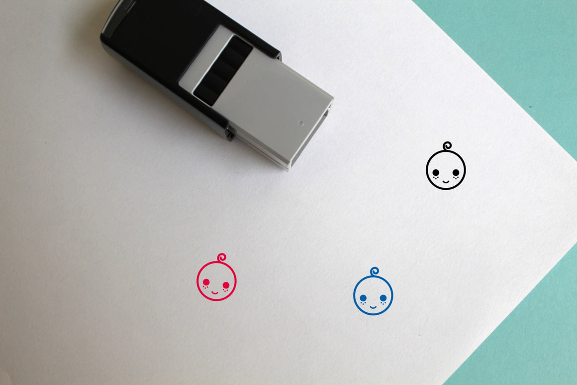 Baby Self-Inking Rubber Stamp