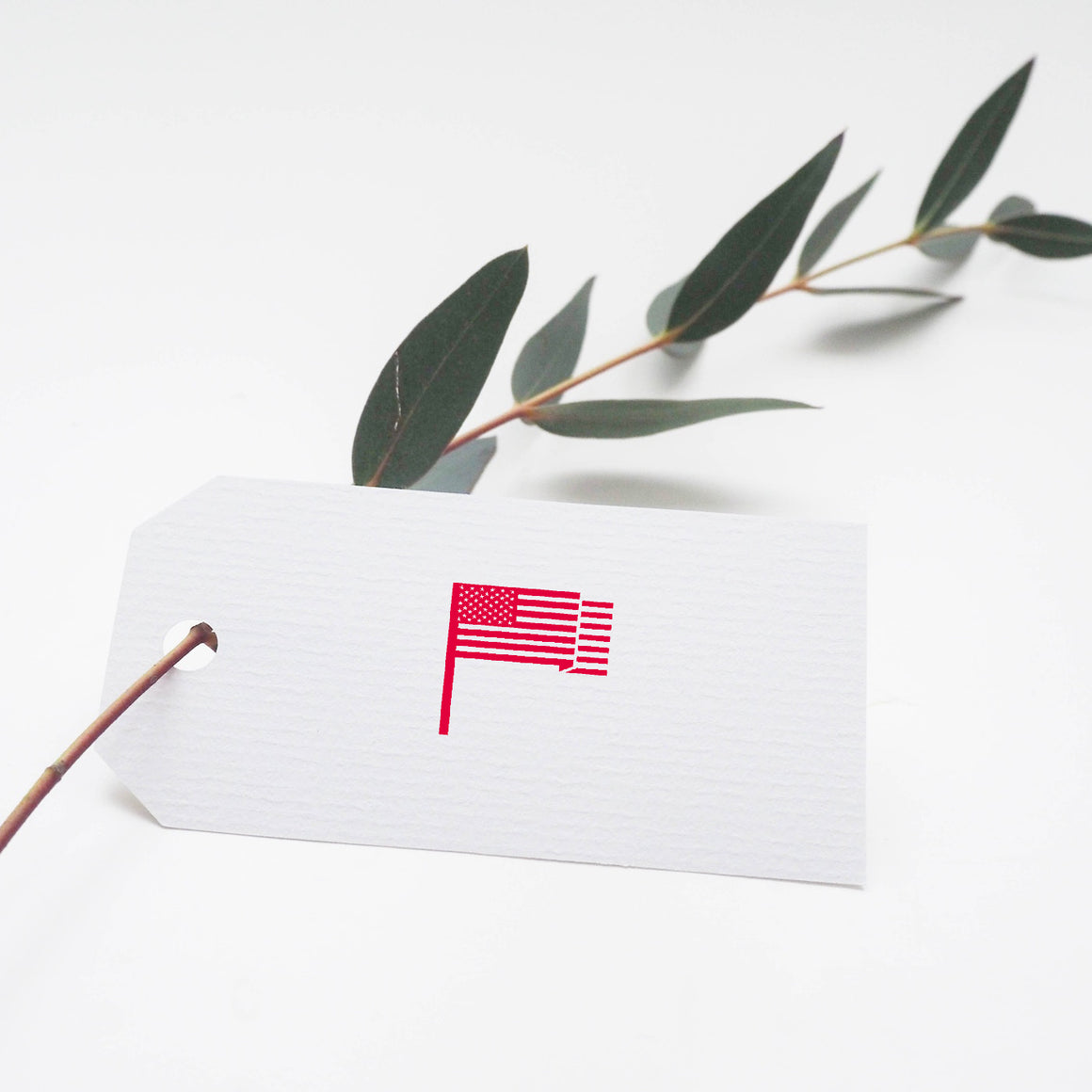 United States Flag Rubber Stamp