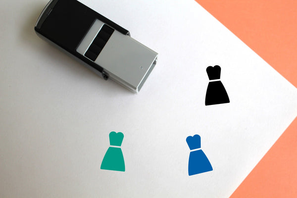 Costume Self-Inking Rubber Stamp