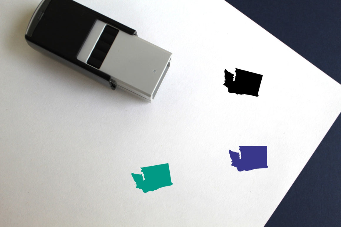Washington Self-Inking Rubber Stamp