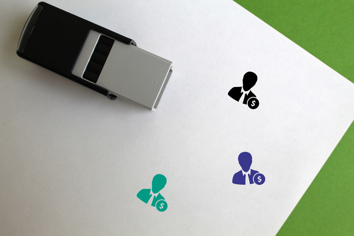 User Self-Inking Rubber Stamp