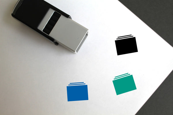 Photo Albums Self-Inking Rubber Stamp