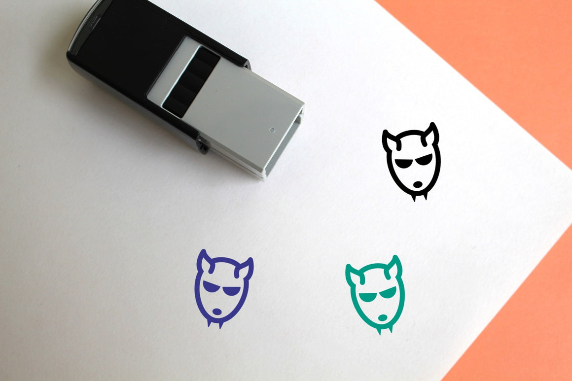 Werewolf Self-Inking Rubber Stamp