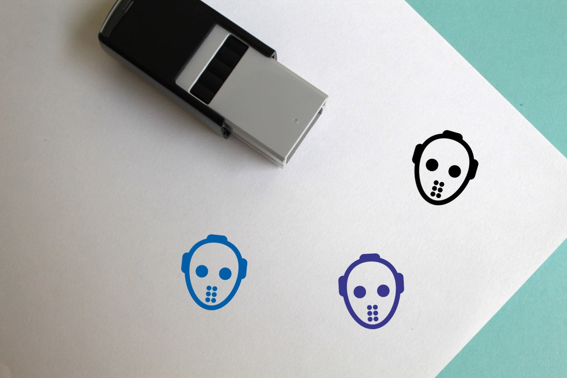 Serial Killer Self-Inking Rubber Stamp