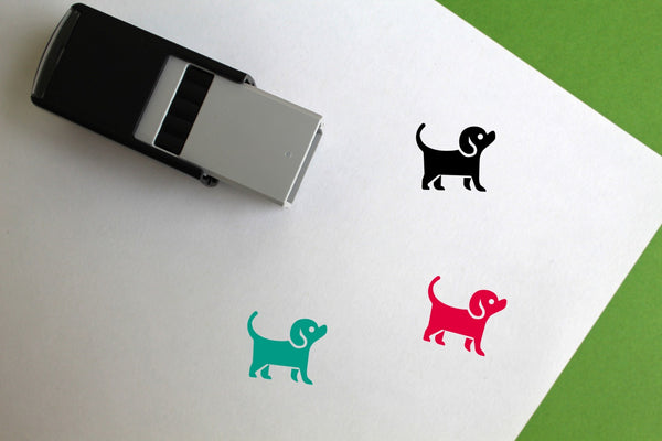 Pet Store Self-Inking Rubber Stamp