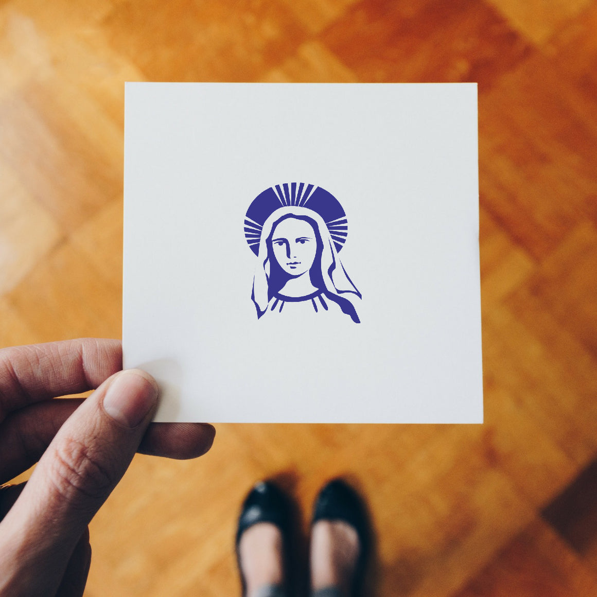 Mary Rubber Stamp