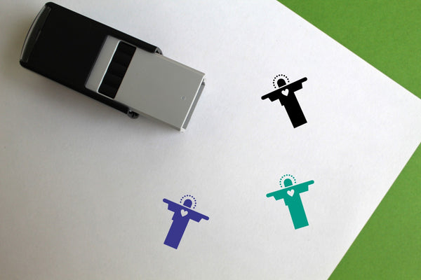 Jesus Self-Inking Rubber Stamp