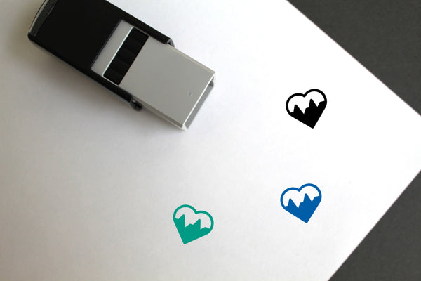 Health Self-Inking Rubber Stamp