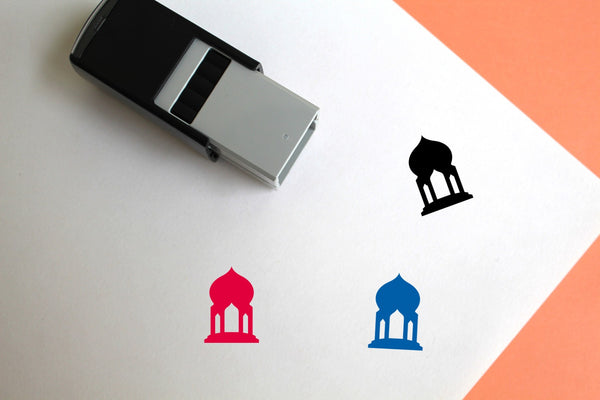 Mosque Self-Inking Rubber Stamp