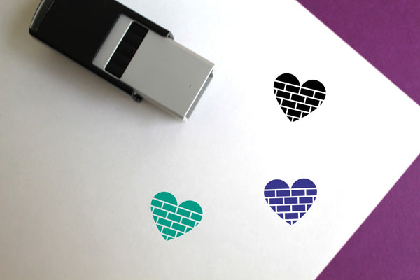 Build On Love Self-Inking Rubber Stamp