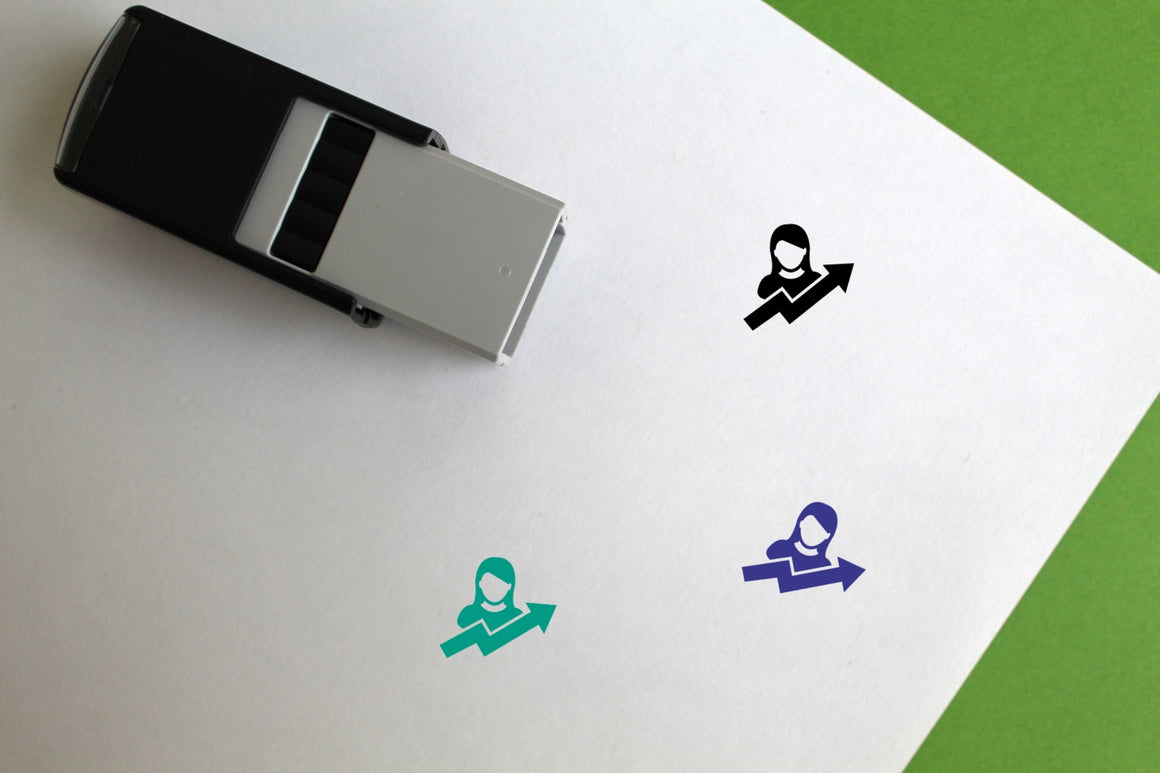 User Growth Self-Inking Rubber Stamp