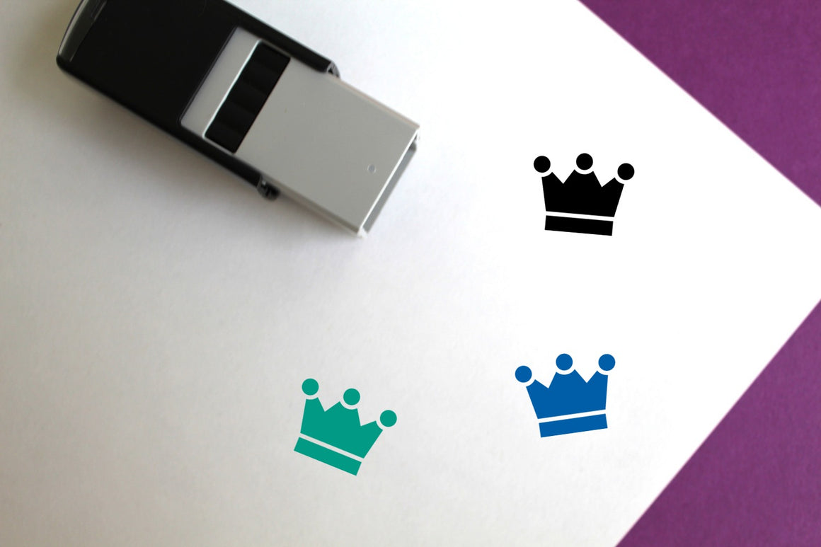 King Self-Inking Rubber Stamp