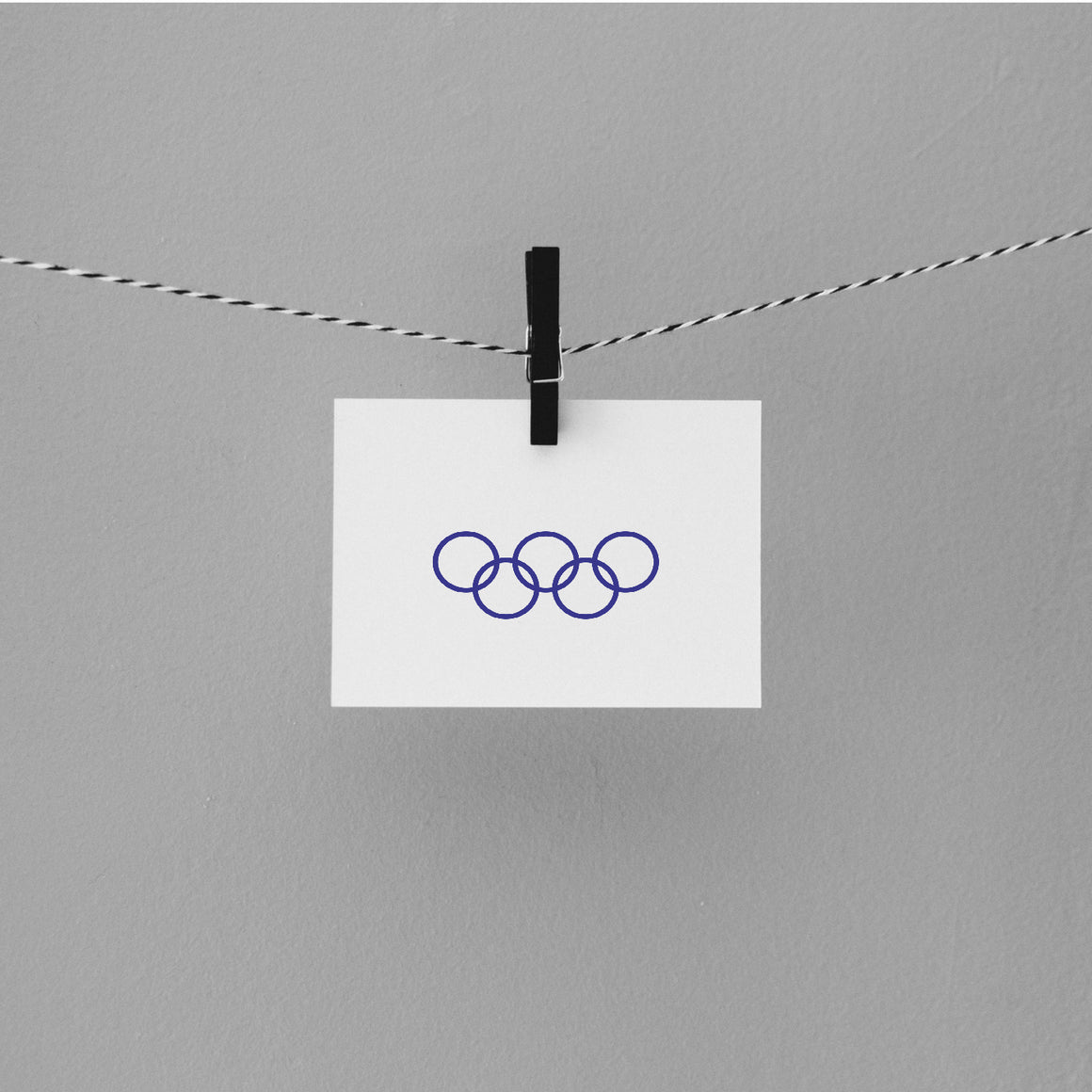 Olympics Rubber Stamp