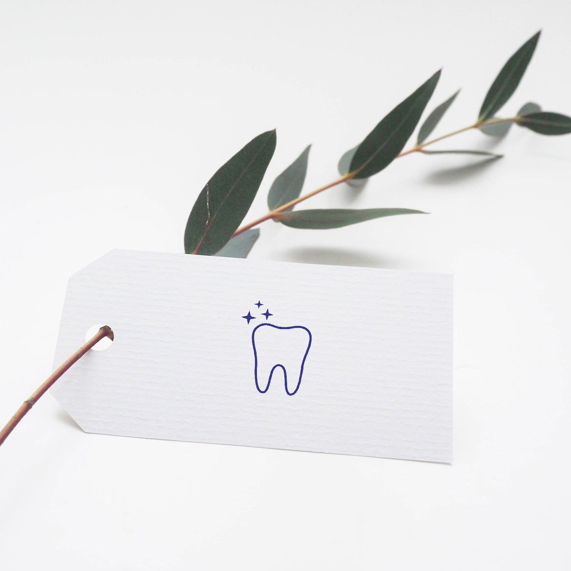 Tooth Rubber Stamp