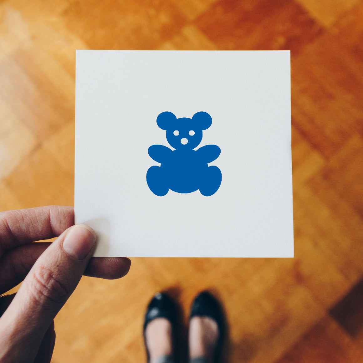 Teddy Bear Rubber Stamp