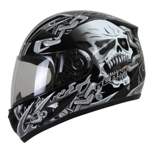 casque moto t te de mort like skull. Black Bedroom Furniture Sets. Home Design Ideas